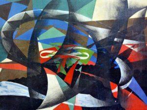 A Roma pitture murali di Giacomo Balla riemerse: il Bal Tic