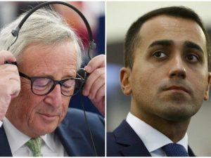 """Luigi Di Maio contro Juncker: """"Lacrime di coccodrillo non mi commuovono, a maggio nessuna pietà"""""""