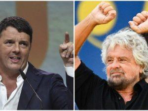 """Autismo, Renzi contro Beppe Grillo: """"Fai schifo, hai insulta"""