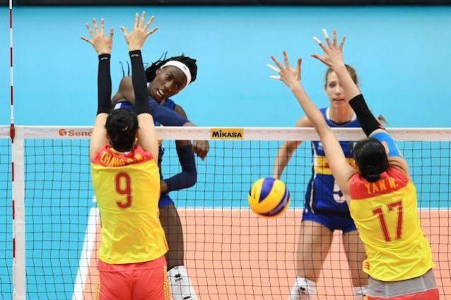 Mondiali femminili di volley, l'Italia batte la Cina e va in