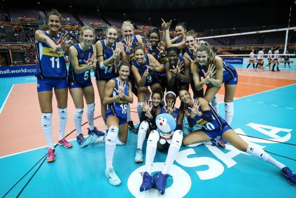 Mondiali volley, l'Italia affronterà la Cina in semifinale