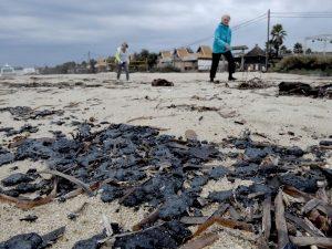 """Marea nera a Saint Tropez: """"Conseguenza della collisione tra"""