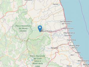 Terremoto Marche, scossa di 2.9 avvertita ad Ascoli Piceno: