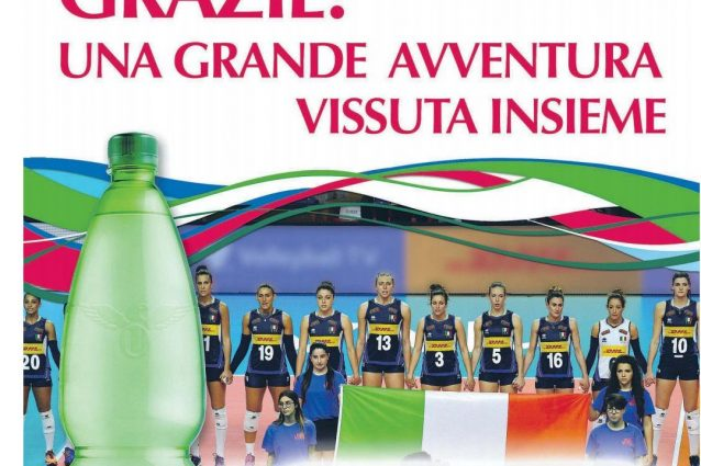 """Volley, la pubblicità dello sponsor fa discutere: """"oscurata"""""""