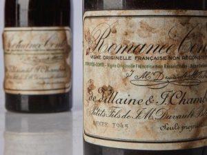 Il vino più caro al mondo: 558mila dollari per una bottiglia
