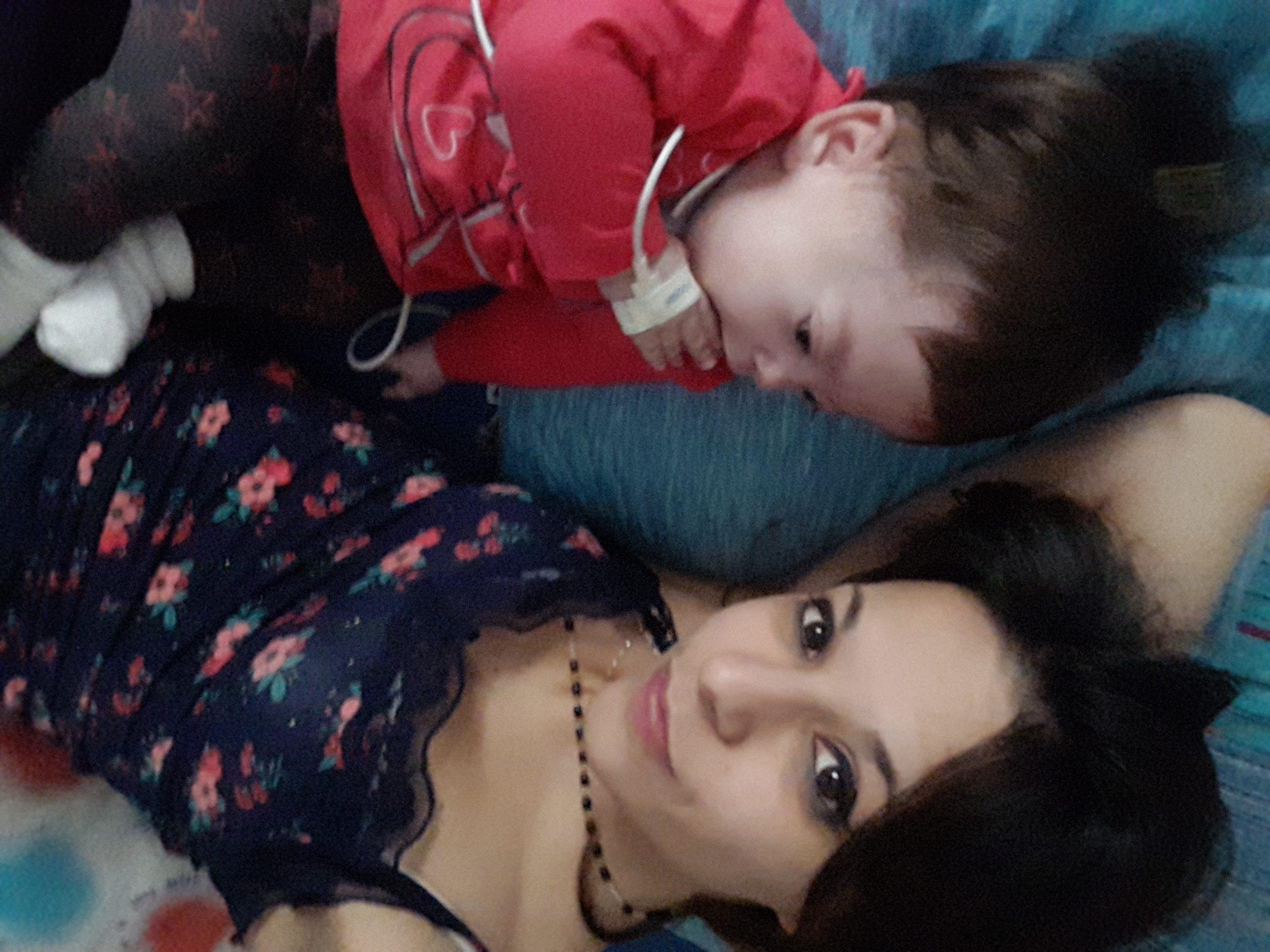 Elettra con la mamma Valentina