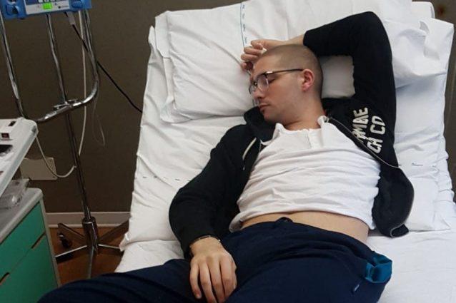 """Da una febbre al tumore, la rinascita di Luca: """"Mi lascio al"""