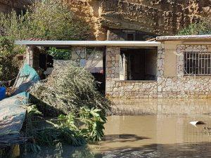 Il villino abusivo di Casteldaccia, dove sono morte 9 persone.