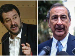 """Chiusure domenicali    Salvini contro Sala    """"Rispetto più Avellino che un radical chic"""""""