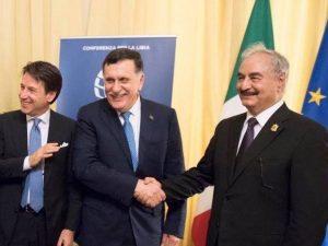 """Libia, conclusa la Conferenza di Palermo. L'Onu: """"È stata un"""