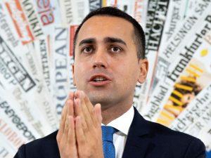 """Luigi Di Maio vuole una legge sugli editori puri: """"Basta con i conflitti di interesse"""""""