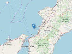 Terremoto, due scosse in Calabria: la più forte di magnitudo