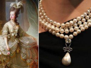 Asta record per i gioielli di Maria Antonietta |  ciondolo venduto per 32 milioni di dollari