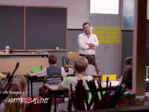 """Salvini intervistato dai bambini """"Alla lavagna"""", bufera sull"""