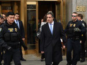 Condannato Michael Cohen: pagò il silenzio di sue escort che