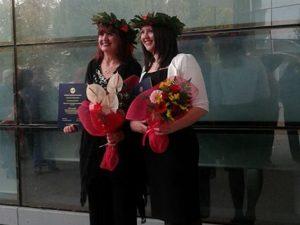 Grazia e la figlia Lia si laureano lo stesso giorno in Econo