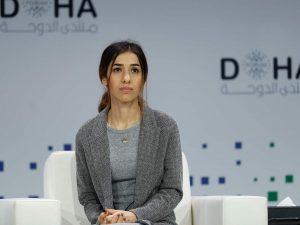 """Il premio Nobel Nadia Murad: """"Mio nipote arruolato nell'Isis"""