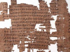 Il Papiro di Artemidoro è un falso: nel 2004 fu venduto per