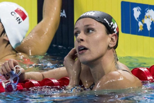 Nuoto, Mondiali vasca corta: super Federica Pellegrini, staffetta di bronzo