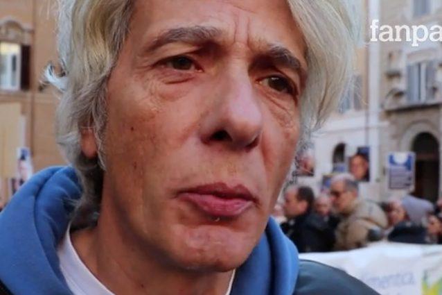 Scomparsi, Pietro Orlandi in piazza con l'associazione Penel