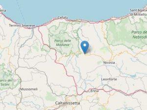 Terremoto in Sicilia, 3 scosse a Gangi: la più forte di magn