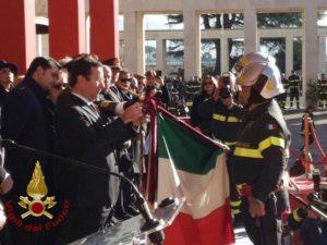 """Crollo Ponte Morandi, medaglia d'oro ai Vigili del Fuoco: """"Esempio di coraggio e amore per il prossimo"""""""