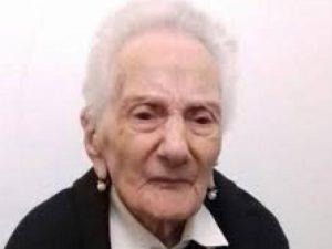 Morta Adele Rejtano: addio alla nonnina delle Eolie, aveva 1