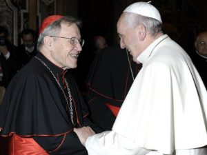 """Il Cardinale Kasper: """"I nemici di Papa Francesco vogliono un"""