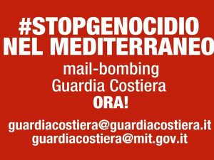 Mail bombing alla Guardia Costiera italiana per salvare 100