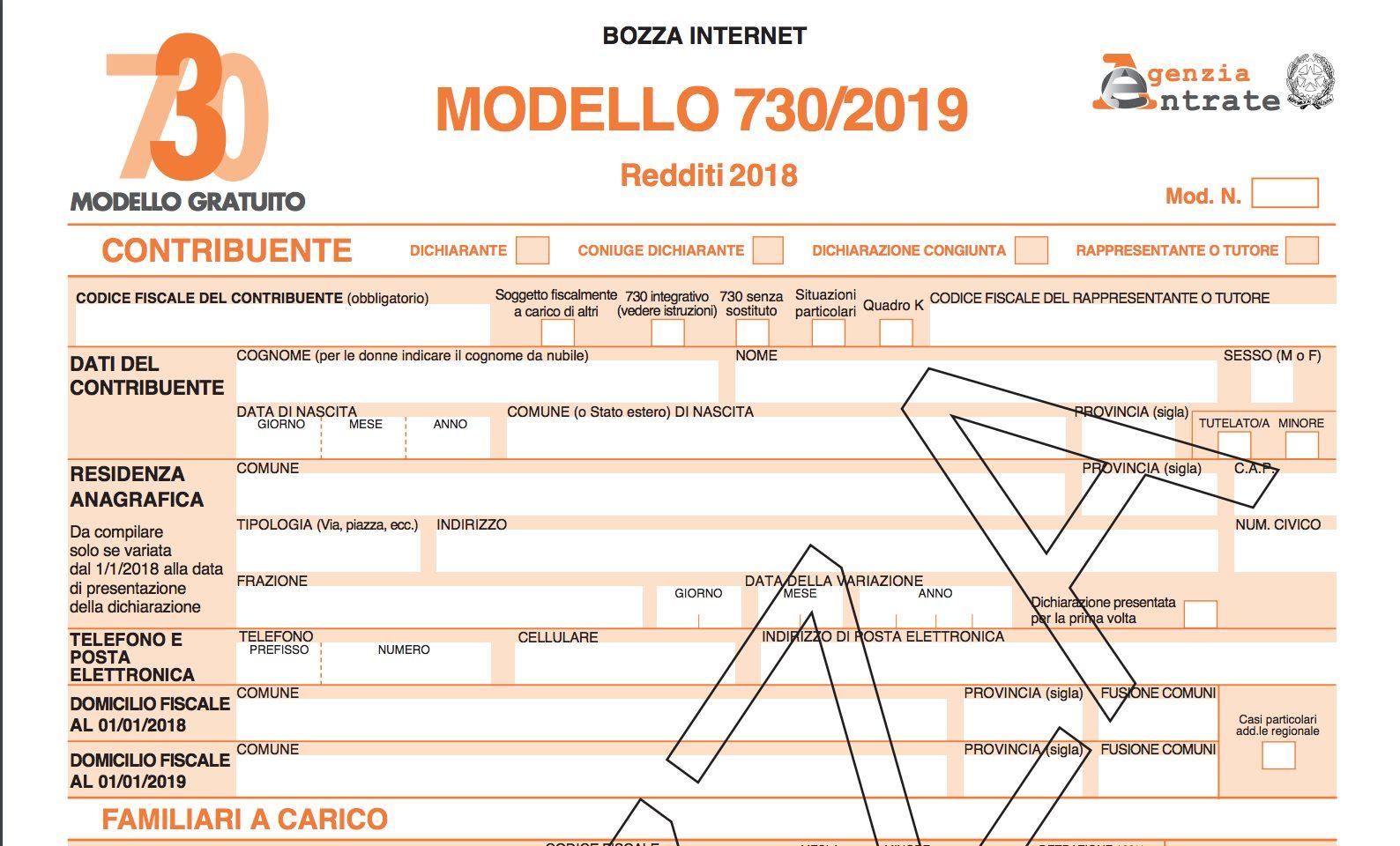SCARICA DAL 730 ABBONAMENTO TRENO