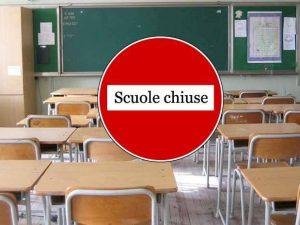 Maltempo, scuole chiuse giovedì 24 ottobre per allerta meteo
