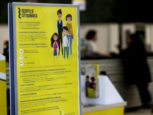 Reddito di cittadinanza, il 37% delle famiglie beneficiarie
