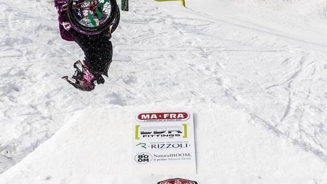 L'impresa di Ilaria: è la prima a realizzare un salto
