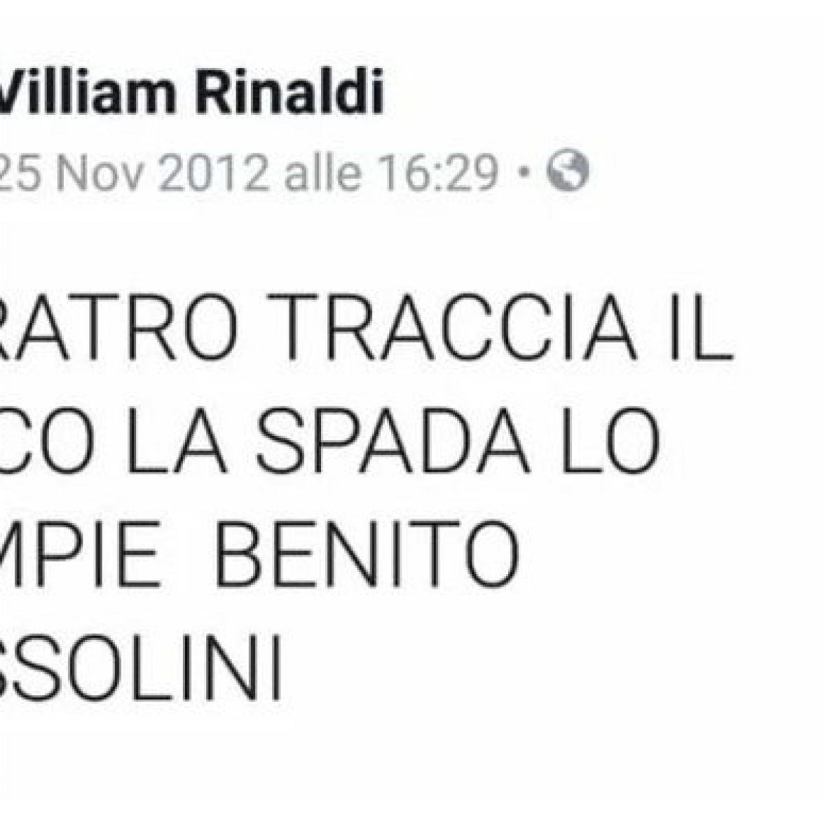 Candidato Sindaco Leghista Inneggia Al Duce Su Facebook