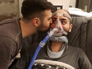 """Paolo, il più giovane malato di Sla d'Europa: """"Aiutatemi a v"""