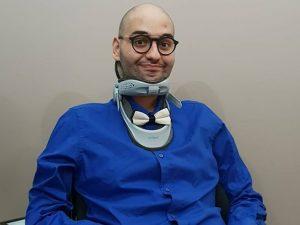 Paolo, chef di 21 anni, è il più giovane malato di sla d'Eur