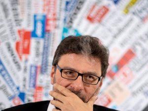 """La profezia di Giancarlo Giorgetti: """"A giugno verrà la grand"""