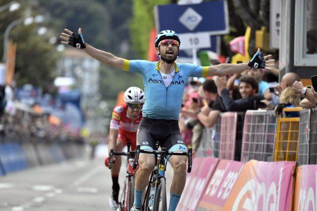 Giro d'Italia 2019, Cataldo vince la 15a tappa. Nibali prota