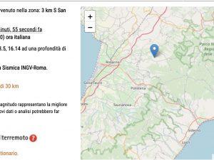 Terremoto a Reggio Calabria e Vibo Valentia, scossa di magni
