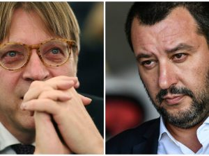 "Guy Verhofstadt sfida Matteo Salvini a dibattito: ""Elettori"