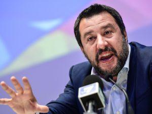 Busta con proiettile indirizzata a Matteo Salvini