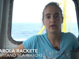 Sea Watch, Carola Rackete si rifiuta di replicare a Salvini