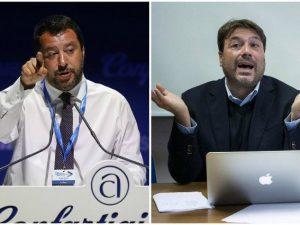 """Maturità, Salvini contro Tomaso Montanari: """"Chieda scusa all"""
