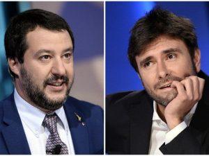 """Salvini contro Di Battista: """"Non parlo con i chiacchieroni t"""