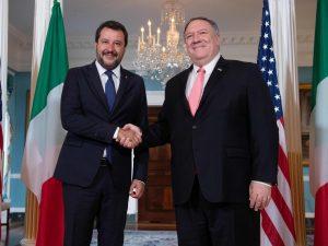 """Salvini fa l'americano: """"L'Italia è l'interlocutore più cred"""