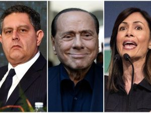 Berlusconi nomina Mara Carfagna e Giovanni Toti coordinatori
