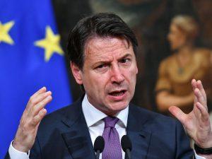 """Giuseppe Conte all'Ue: """"Il primato della finanza non offre c"""