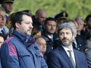 """Dl Sicurezza bis, Fico contro Salvini: """"Dice il falso o non sa come funziona la Camera"""""""