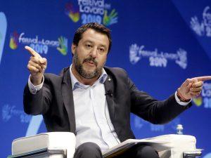 "Matteo Salvini torna all'attacco: ""Cinque Stelle e Pd? Già a"