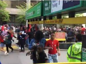 Spari durante la festa dei Toronto Raptors: panico tra la fo
